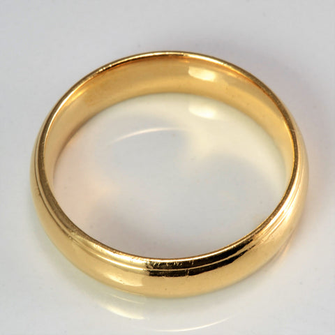 BIRKS Yellow Gold Men's Wedding Band | SZ 11.5 |