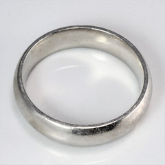 BIRKS Platinum Men's Wedding Band | 11.5 |