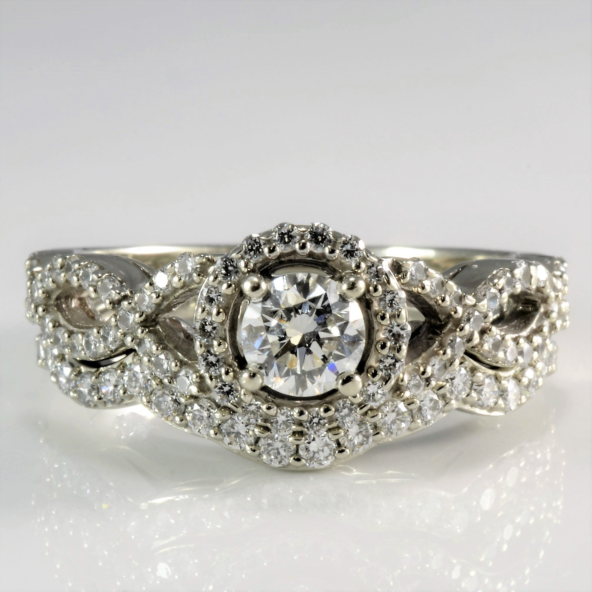 under diamond sets ring wedding her img his and luxury