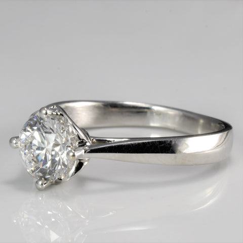 Solitaire Diamond Engagement Ring | 0.81 ct, SZ 6 |