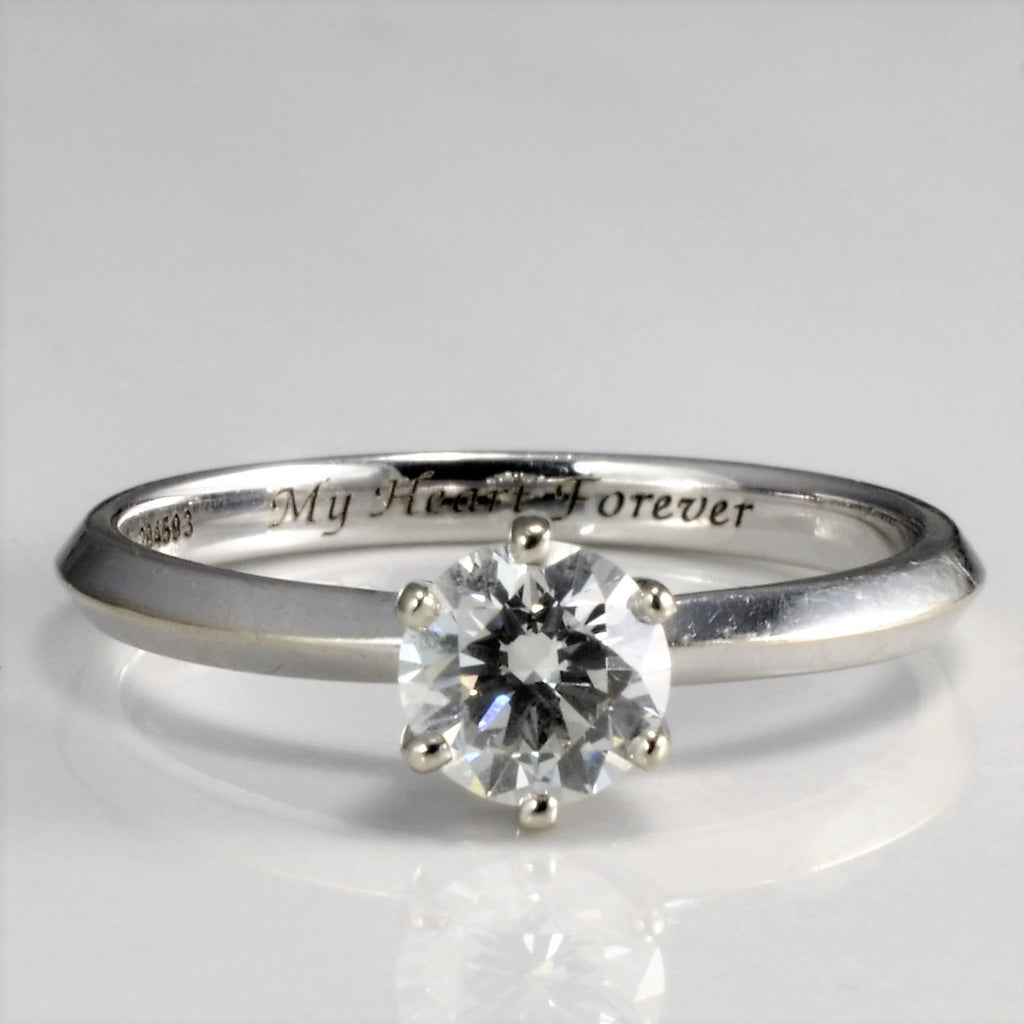 """""""My Heart Forever"""" Diamond Engagement Ring 