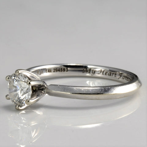 """My Heart Forever"" Diamond Engagement Ring 