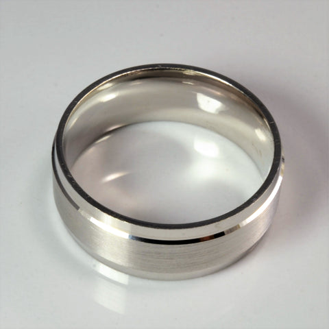 White Gold Men's Band | SZ 10 |