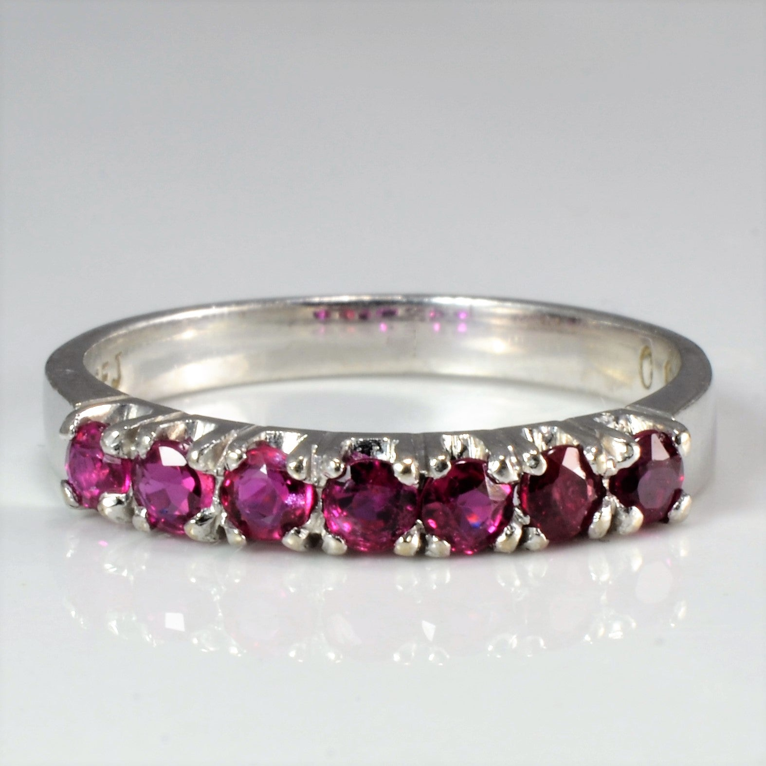Pave Set Ruby Band | SZ 6 |