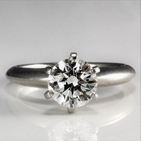 Tiffany & Co. Six Prong Solitaire Diamond Engagement Ring | 1.14 ct, SZ 5 |