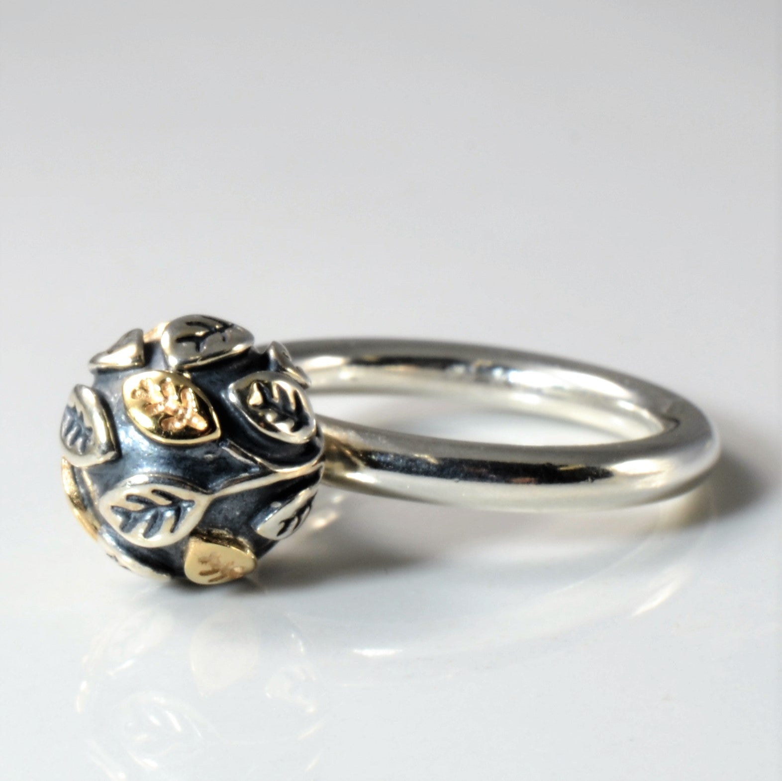 'Pandora' Tree Of Life Two Tone Ring | SZ 5.75 |