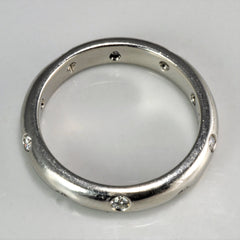 TIFFANY & CO. Platinum Gypsy Diamond Etoile Band | 0.25 ctw, SZ 6.75 |