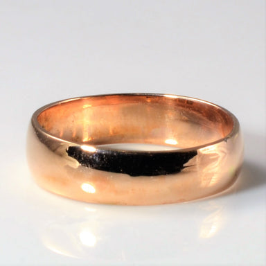 vintage Rose gold band 1870s vintage ring