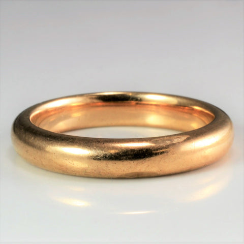 10K Yellow Gold Band | SZ 6.5 |