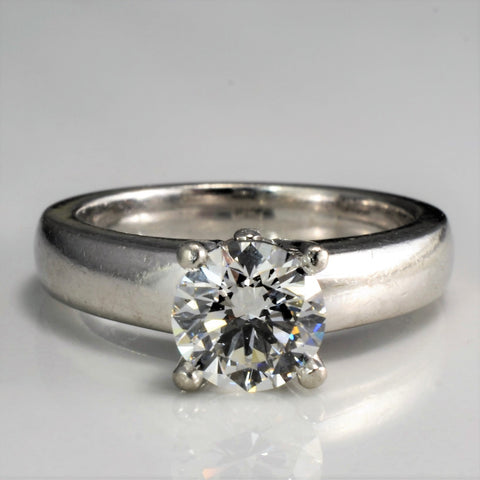 Solitaire Diamond Engagement Ring | 1.01 ct, SZ 5.25 |