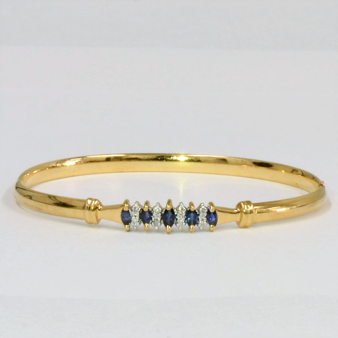 bangles yellow bangle double gold bracelet product row diamond