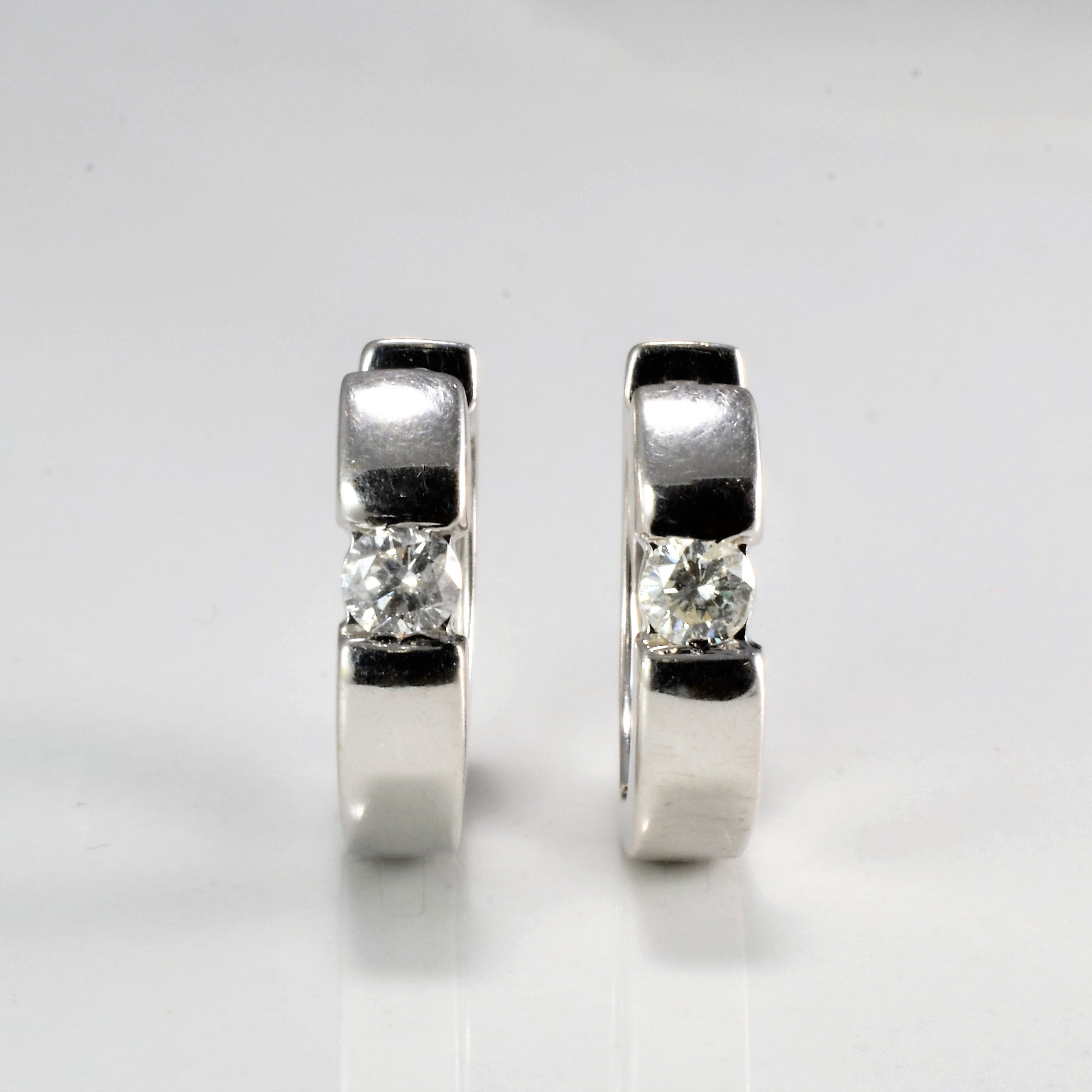 Diamond Huggie Earrings | 0.24 ctw |