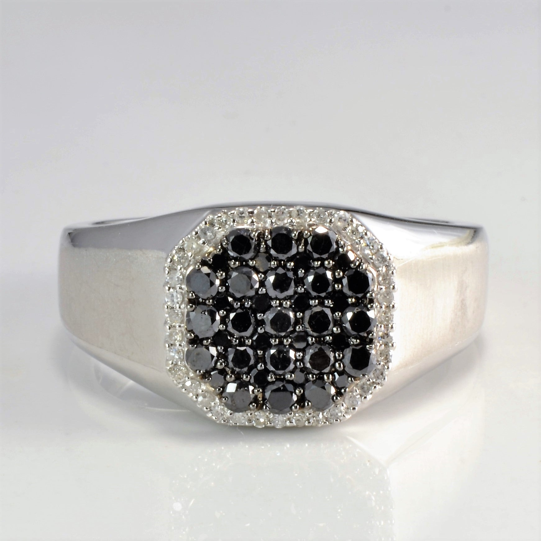 Cluster Set Diamond Men's Ring | 0.64 ctw, SZ 10 |