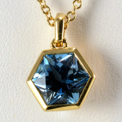 """Birks"" Bee Chic Collection Blue Topaz Necklace 