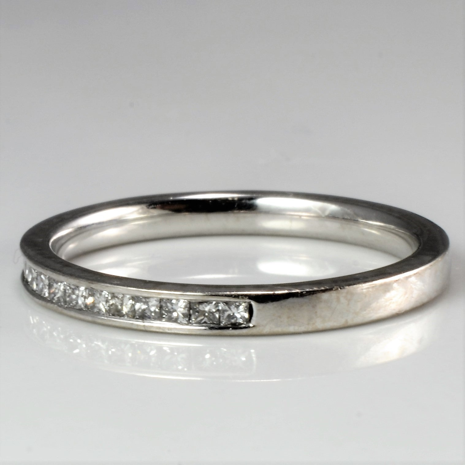 Princess Diamond Semi Eternity Wedding Band | 0.24 ctw, SZ 5.75 |