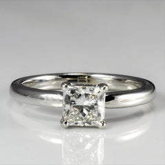 Solitaire Princess Diamond Engagement Ring | 0.75 ct, SZ 5.25 |