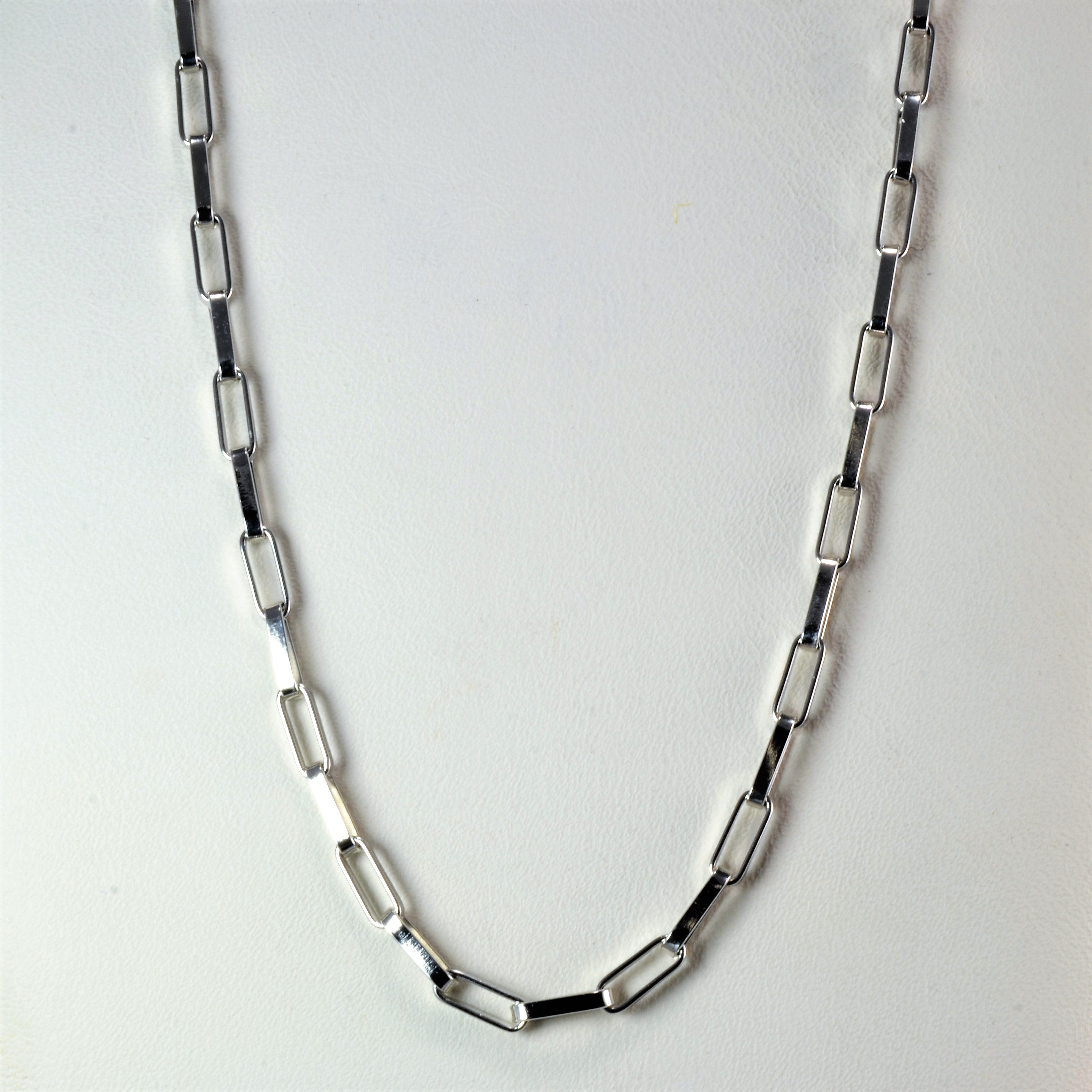 BIRKS White Gold Chain | 17''|