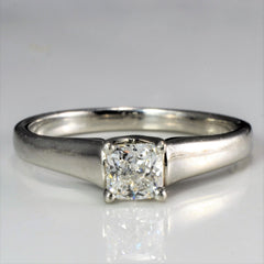 BIRKS Solitaire Diamond Engagement Ring | 0.32 ct, SZ 5.5 |