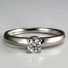 """Birks"" Solitaire Diamond Engagement Ring 