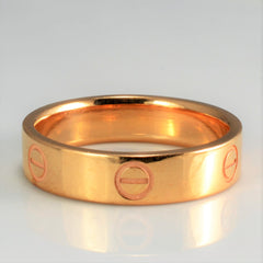 CARTIER Love Wedding Band | SZ 9 |
