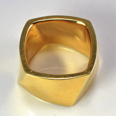 TIFFANY & CO. Textured Wide Band | SZ 6 |