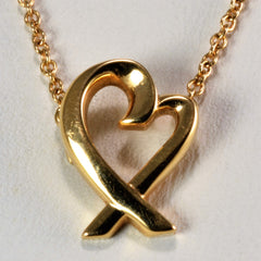 TIFFANY & CO. PALOMA PICASSO® Loving Heart Pendant | 16''|