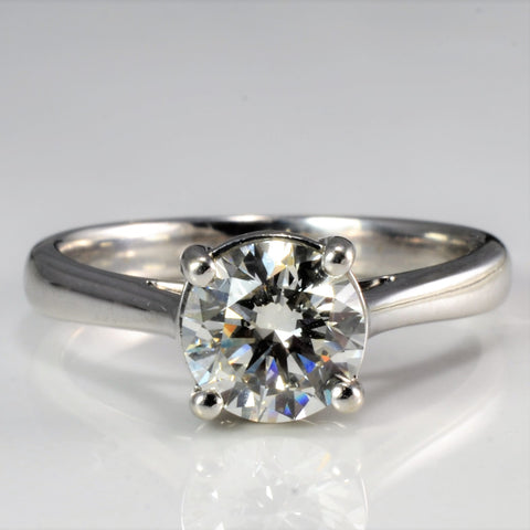 Solitaire Diamond Engagement Ring | 1.09 ct, SZ 6 |