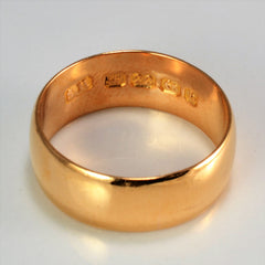 Victorian Rose Gold Band | SZ 5.25 |