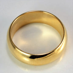 BIRKS Yellow Gold Ladies Plain Band | SZ 5.25 |