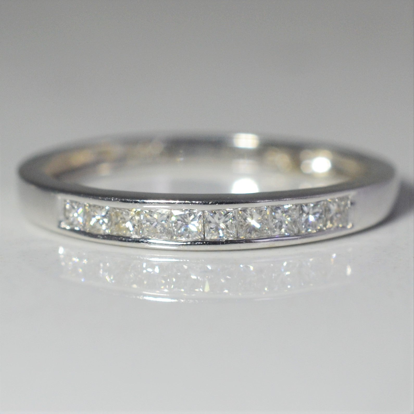 diamond gold white princess cut eternity mens diamonds band blue bands wedding