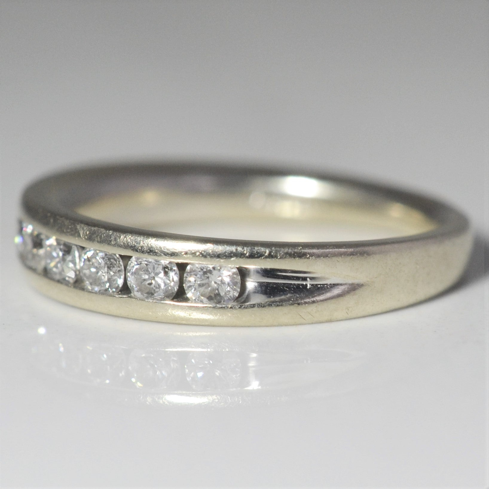 Classic Channel Set Diamond Band | 0.35 ctw, SZ 5.5 |