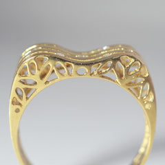 Filigree Detailed Diamond Constellation Ring | 0.05 ctw, SZ 8 |