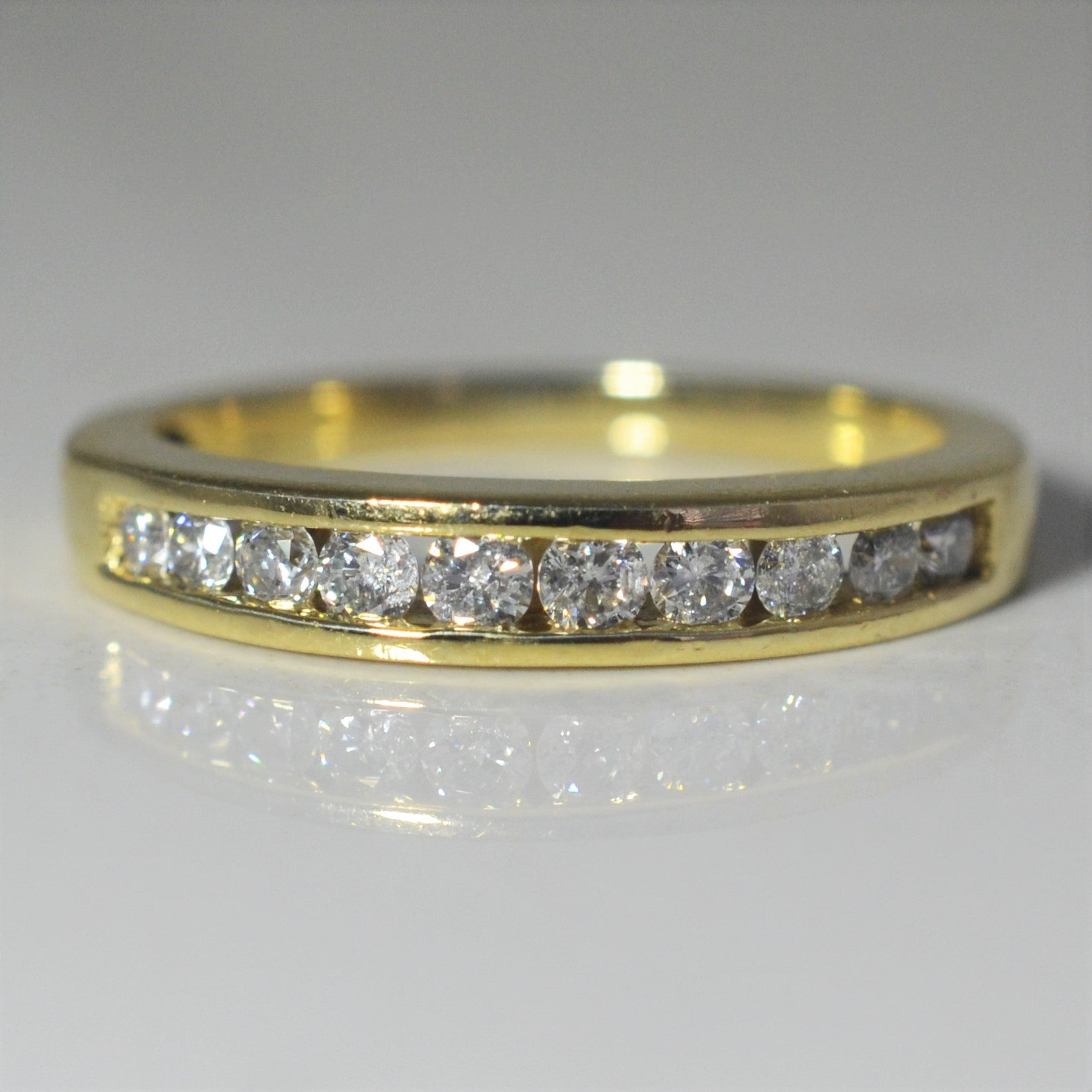 Classic Diamond Channel Band | 0.30 ctw, SZ 5.5 |