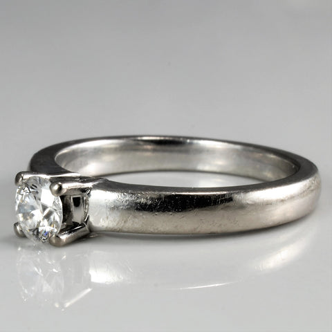 'Birks' Solitaire Diamond Engagement Ring | 0.30 ct | SZ 6 |