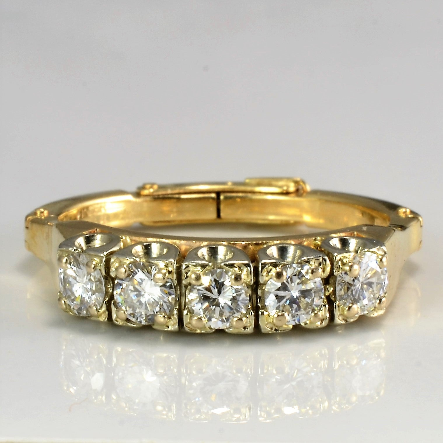 Five Stone Diamond Ring | 0.60 ctw, SZ 7.5- 10 |