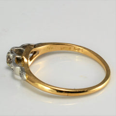BIRKS Vintage Diamond Ring | 0.12 ctw, SZ 6.5 |