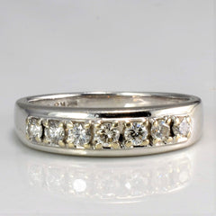 BIRKS Diamond Wedding Ring | 0.25 ctw, SZ 4.5 |