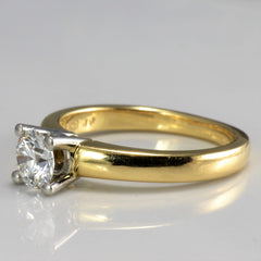 BIRKS Solitaire Diamond Engagement Ring | 0.57 ct, SZ 6.25 |
