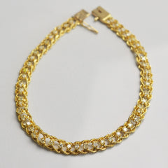 Single Cut Diamond Weave Bracelet | 0.50 ctw |