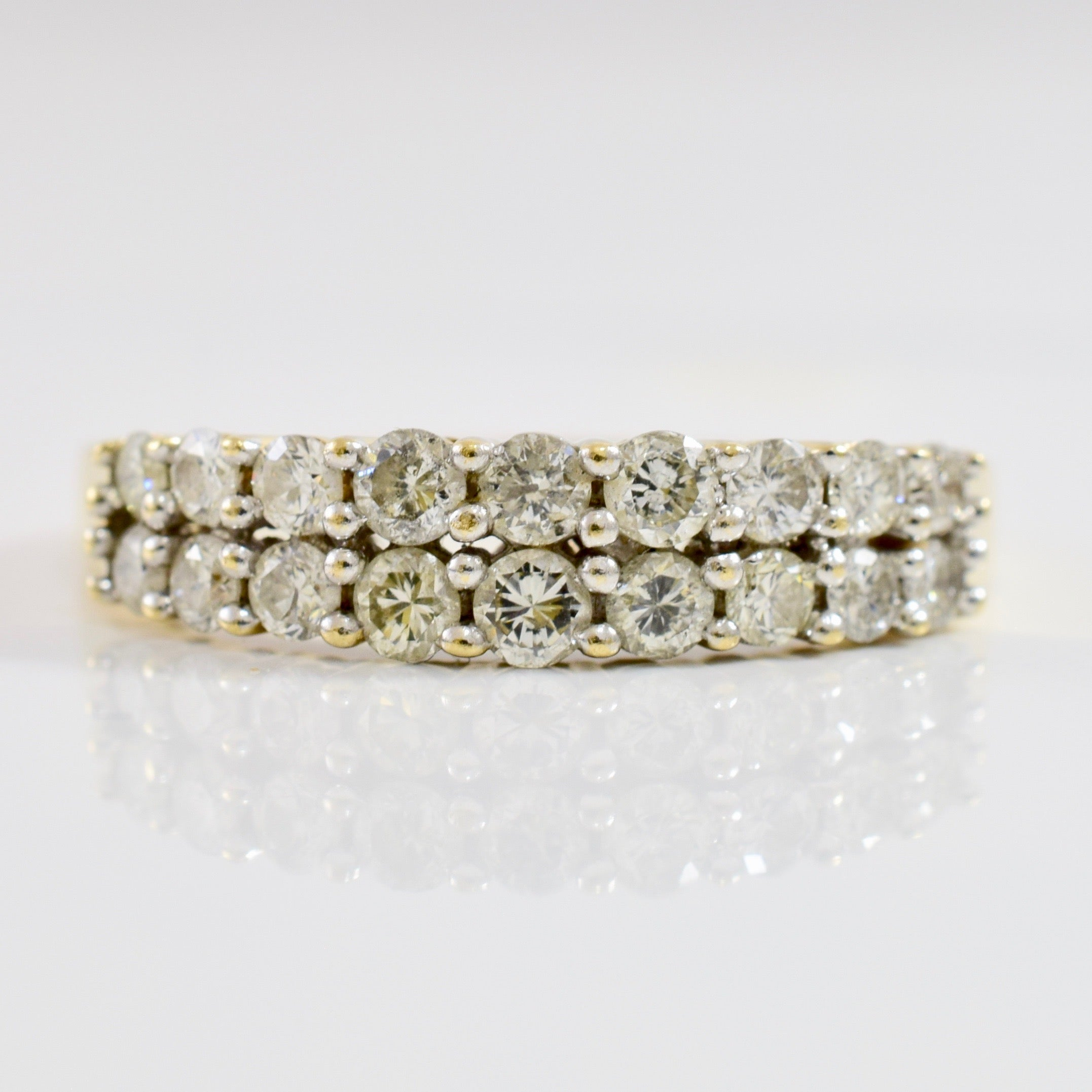 Double Diamond Band | 0.81 ctw SZ 10 |