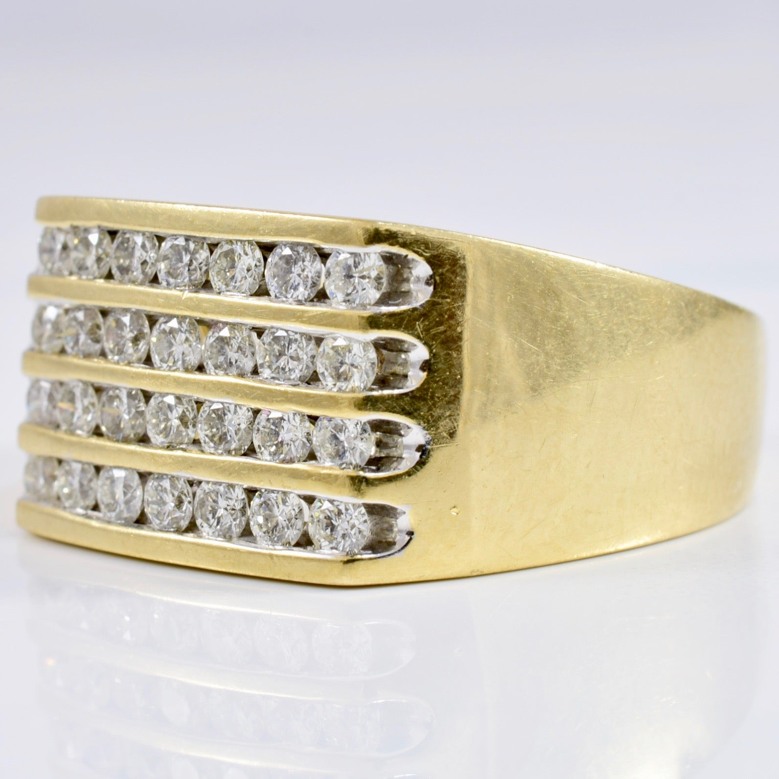 Channel Set Diamond Band | 1.00 ctw SZ 10.25 |