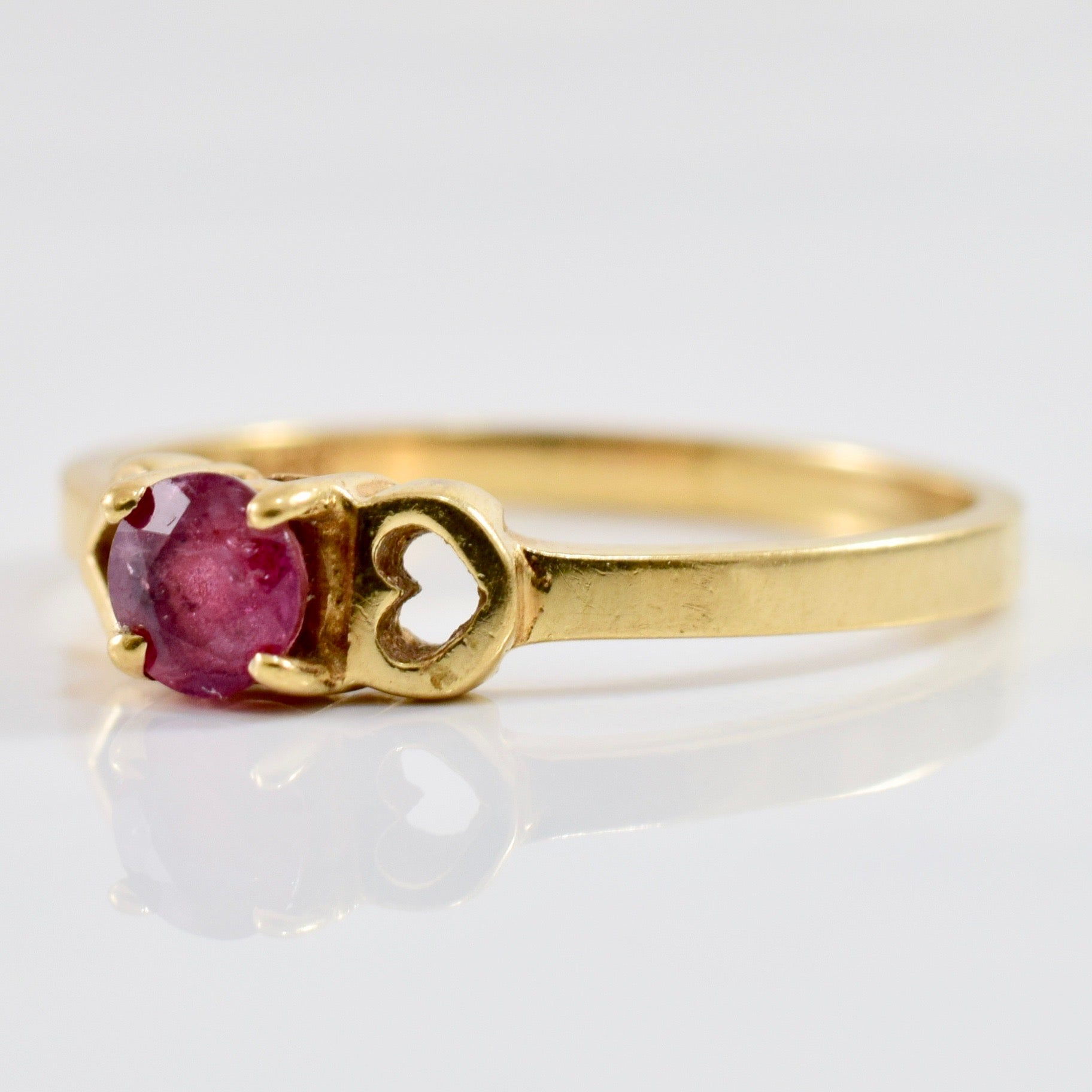Solitaire Ruby Ring | SZ 6 |