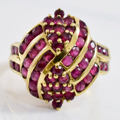 Ruby Cluster Ring | SZ 8 |