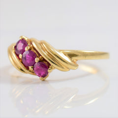 Ruby Bypass Ring | SZ 7 |