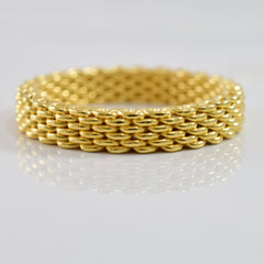 Tiffany and Co. Woven Band | SZ 6.5 |