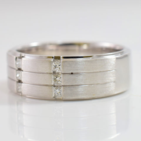 Channel Set Diamond Band | 0.22 ctw SZ 10 |