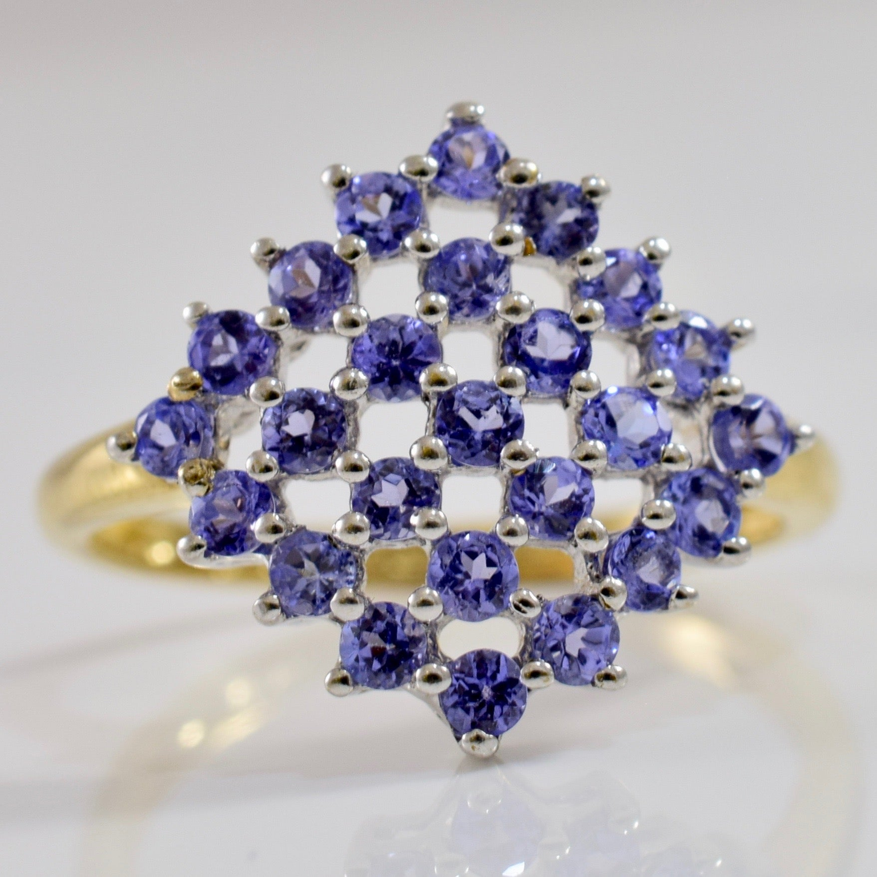 Tanzanite Shield Ring | SZ 7.5 |