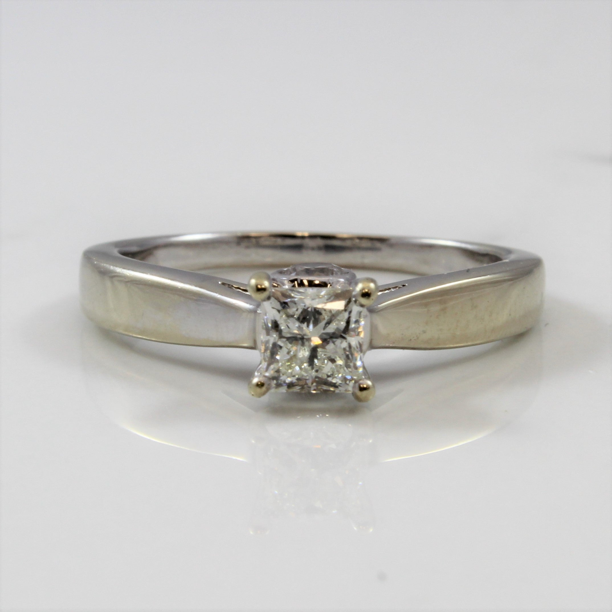 Diamond Detailed Profile Engagement Ring | 1.00 ctw | SZ 9.25 |