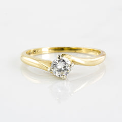'Birks' Diamond Solitaire Ring | 0.24 ctw | SZ 5.75 |