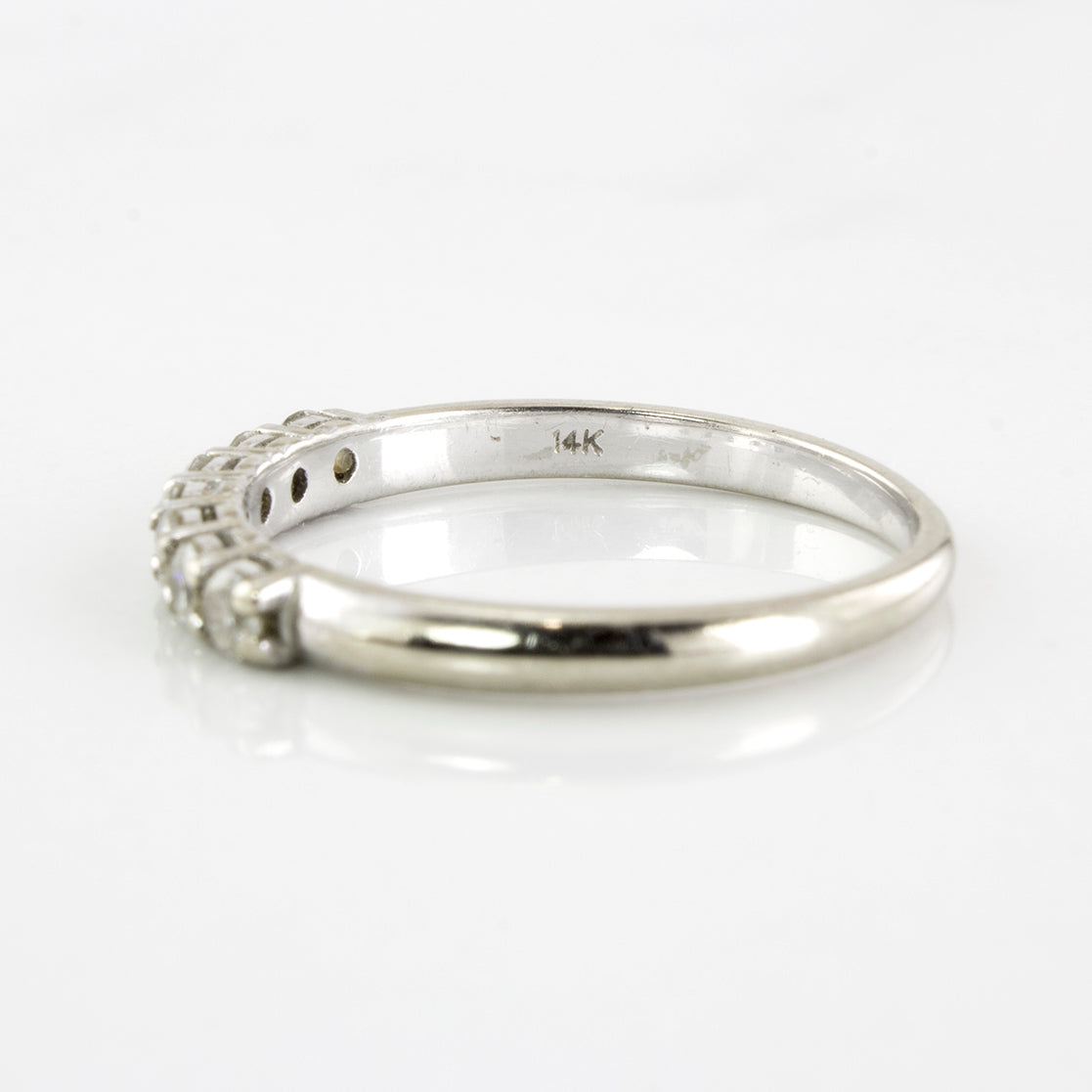 Prong Set Diamond Band | 0.33 ctw | SZ 6.25 |